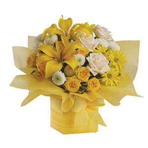 Mix Yellow Flower Arrangements
