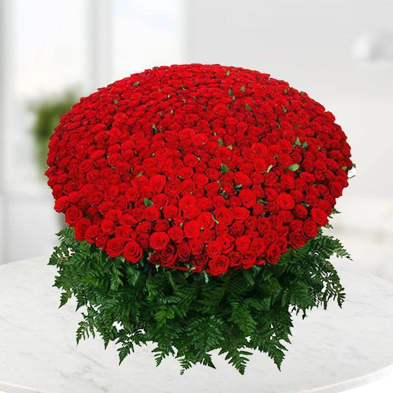 500 Red Roses Bouquet