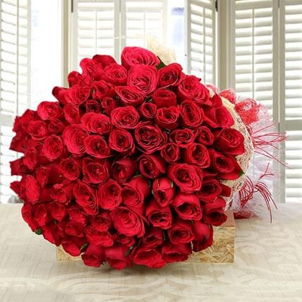 Bunch of 700 Lovely Red Roses