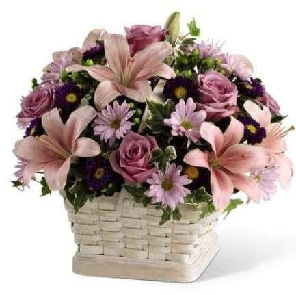 Beautiful Gift Basket